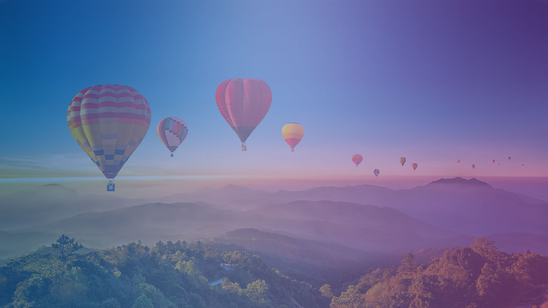 image of ballons on animated header